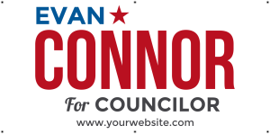 State Legislator Political Sign